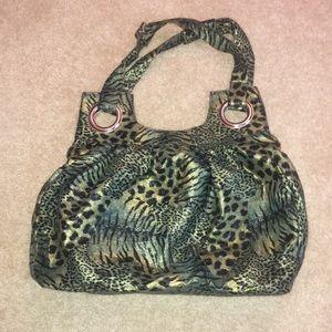Handbags - Cheetah and zebra print purse